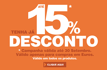 Desconto Ate 15%